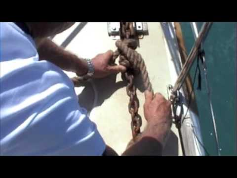 Snubber On Anchor by FreeSailTraining.com