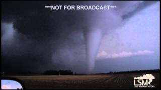 4-9-15 Tornado near Rockford, IL - Belvidere, IL *HD*
