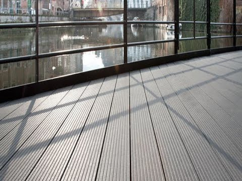 Tongue And Groove Composite Decking Durable Youtube