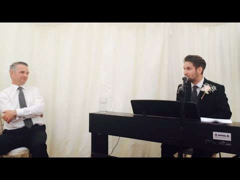 Passmore Wedding - BEST MAN SONGS AND SPEECH.