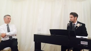 Passmore Wedding - BEST MAN SONGS AND SPEECH.(The best man's speech and songs from the wedding of Mr and Mrs Passmore 11/07/2015. Songs are at 02:15. 12:05. 27:15., 2015-07-24T22:24:08.000Z)