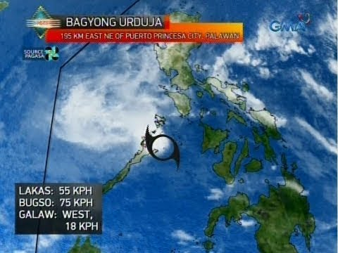 UB: Weather update as of 5:56 a.m. (December 18, 2017)