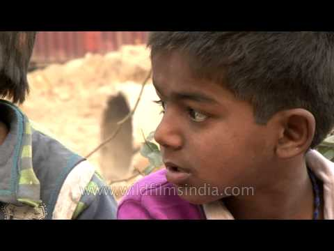 Dark future: Delhi child rag picker's life