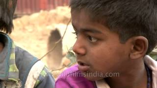 Dark future: Delhi child rag picker
