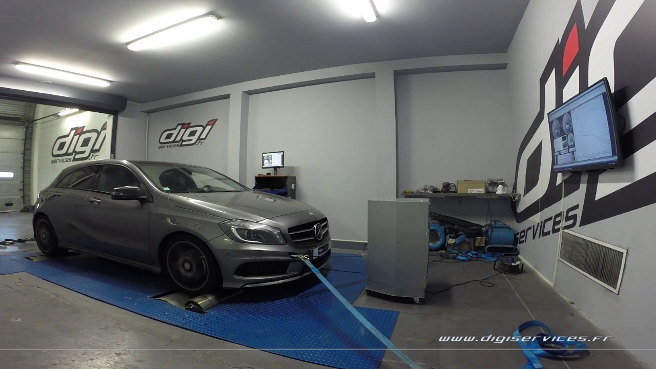 mercedes a 180 cdi 109cv auto reprogrammation moteur 165cv digiservices paris 77 dyno youtube. Black Bedroom Furniture Sets. Home Design Ideas