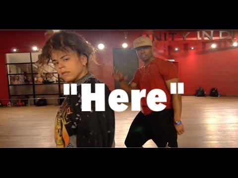 "Alessia Cara - ""Here"" | Phil Wright Choreography | Ig : @phil_wright_"