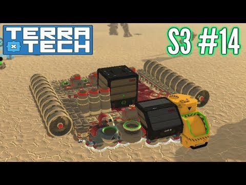 Terratech | Ep14 S3 | Hover Scrapping Base!! | Terratech v0.7.8.2 Gameplay