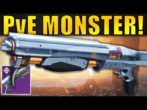 Destiny 2: PvE MONSTER! Perfect Paradox Legendary Shotgun | Curse of Osiris