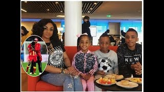 breaking: Asamoah Gyan's kids ignored him during DNA tests session