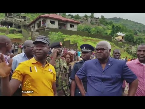 Sierra Leone in mourning after mudslides catastrophe*14th August 2017.