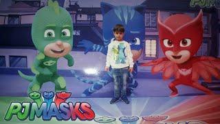Pijamaskeliler gösterisi. En sevdigimiz gösteri pjmasks | Eğlenceli çocuk videosu
