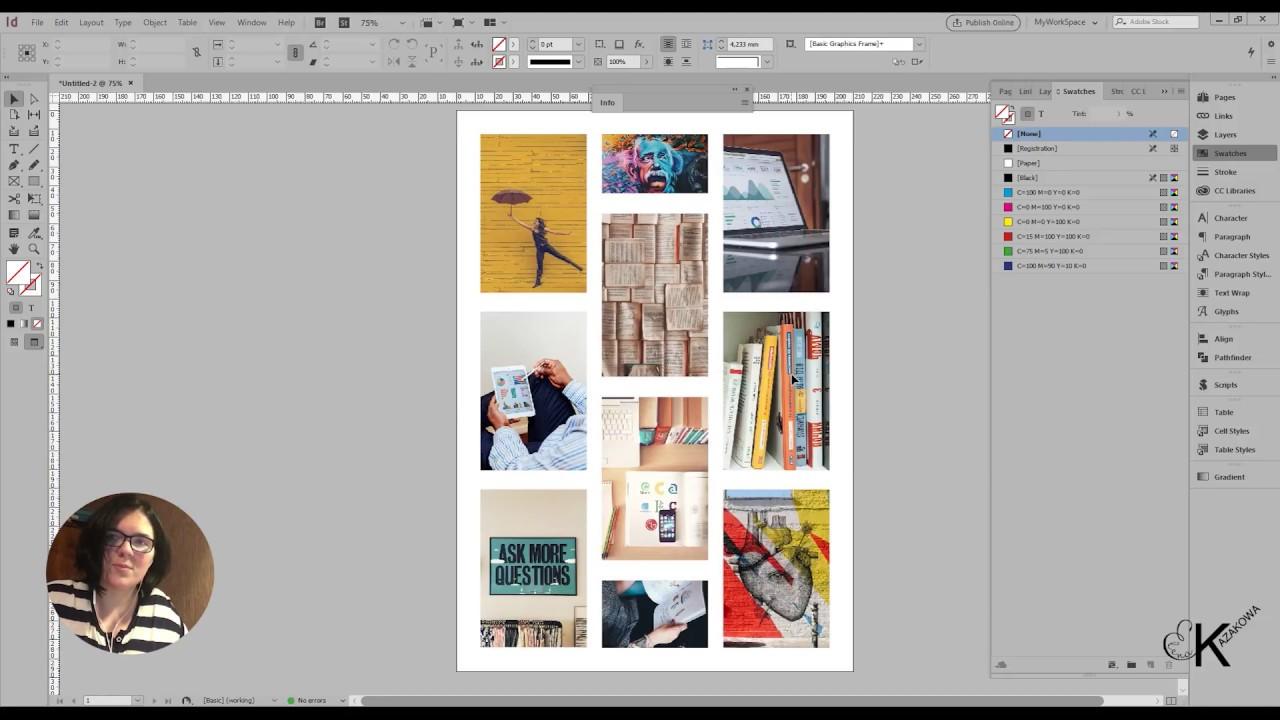 Сделать открытку, как сделать открытку в индизайн