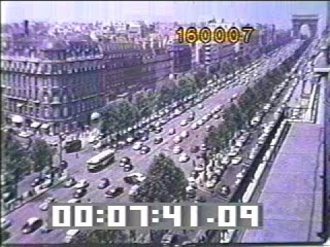 Paris 1960s B-roll