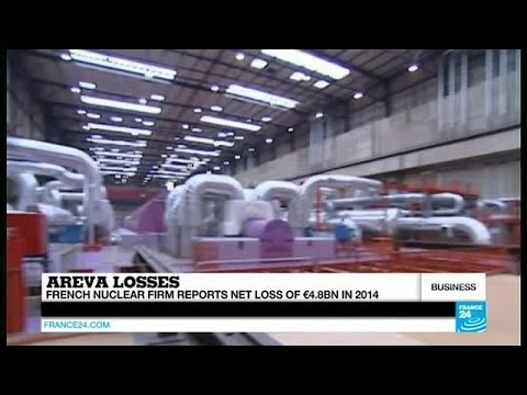 Record Losses At French Nuclear Firm Areva
