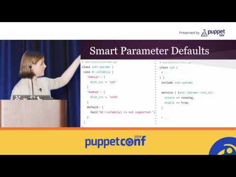 [PuppetConf 2014][Modules] Writing and Publishing Puppet Modules - Colleen Murphy, Pupp...