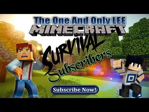 PS4-Minecraft-- Survival open lobby Subscriber World Come join