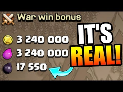 THIS LOOT IS ACTUALLY REAL!! - Clash Of Clans - NEW 2x LOOT REWARD!