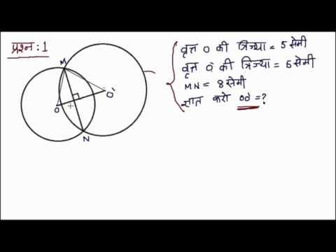वृत्त (Circle) - कक्षा 8 गणित (Class 8 Math) - Hindi