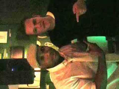 Dj Suga Ray Rockin at Matt Damon 39th Birthday