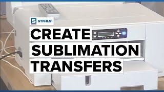 Easily Create Sublimation Transfers with a Desktop Sublimation Printer