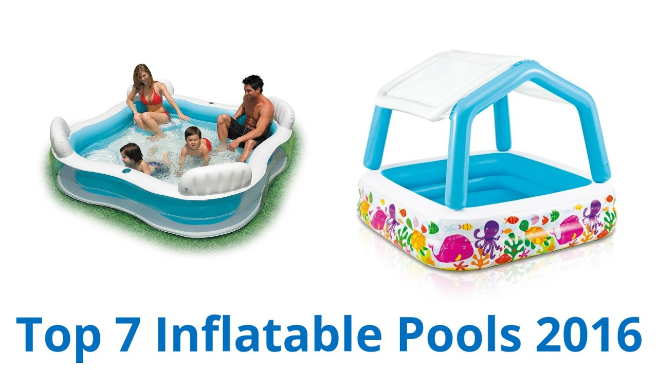 7 Best Inflatable Pools 2016   YouTube