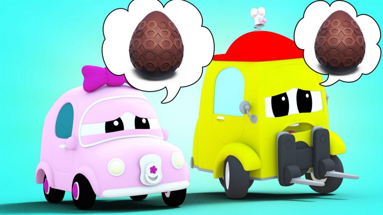 WIELKANOC: Poszukiwania zgubionych Łakoci Wielkanocnych | Super Ciężarówka | Car City World App