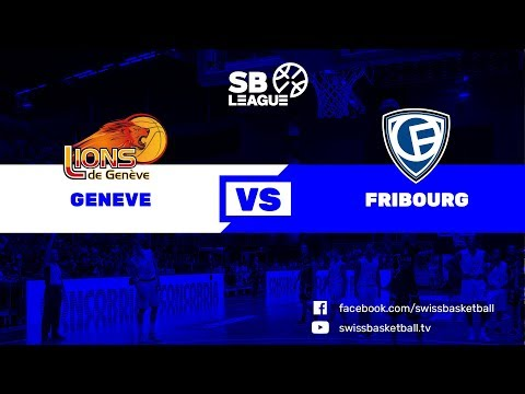 SWISS CUP M - 1/2 FINAL: GENEVE vs. FRIBOURG