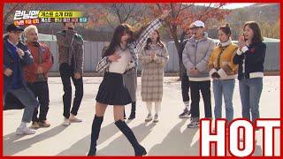 [HOT CLIPS] [RUNNINGMAN] | 💃'DANCING ANGEL' OH MY GIRL YOOA has COME!!💃 (ENG SUB)