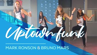 "Fitness Dance ""Uptown Funk"" Bruno Mars"" Choreography"