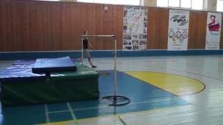 Тренировка. Прыжки в высоту. Май 2016