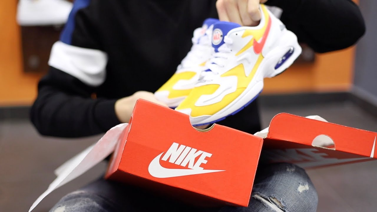 newest collection 37e60 6d648 Unboxing Nike Air Max2 Light University Gold Giallo AO1741 700