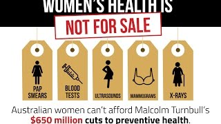 Women's Health Is Not For Sale