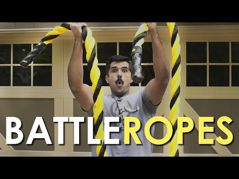 15 Battle Rope Arm Exercises: Wind Sprints for Your Arms | The Art of Manliness