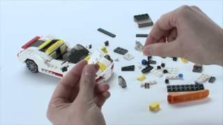 LEGO® Creator Designer Tips - Speedster - Skyflyer combo car