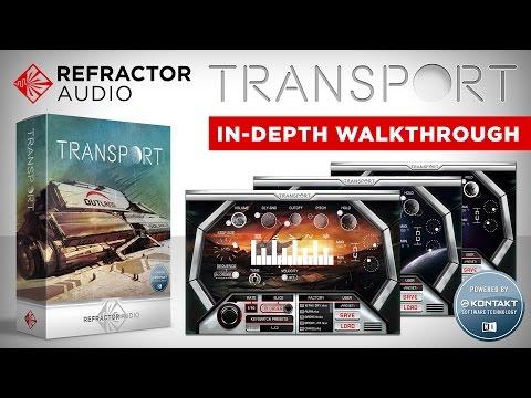 Celldweller Production - Refractor Audio: Transport (In-Depth Walkthrough)