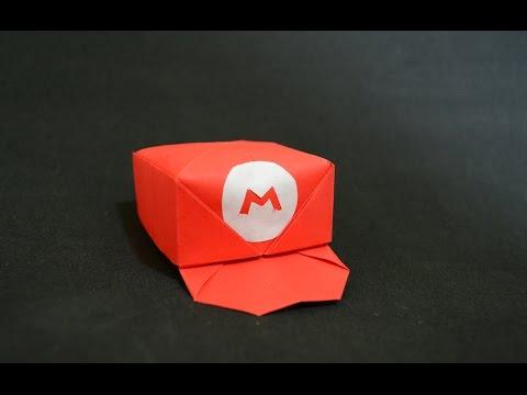 Origami Marios Cap Youtube