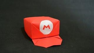 Origami: Mario's Cap