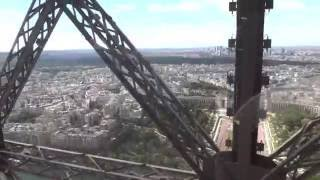 Eiffel Tower Lift Ride to the Top - Paris, France