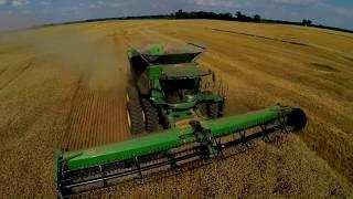 Wheat Harvest 2017 - Leonard Farms