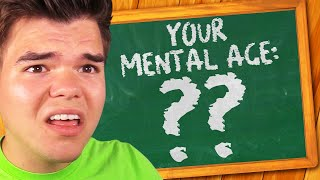 What Is My MENTAL AGE?! (Shocking)