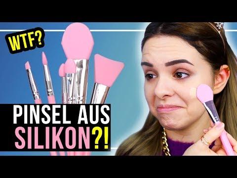MAKE UP PINSEL aus SILIKON?! 🤔 Kann das funktionieren…? – TOP oder FLOP?