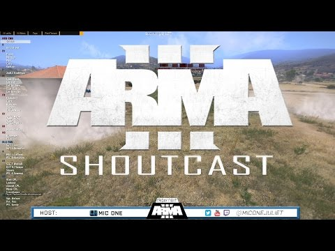 ARMA 3 ShoutCast - Battle By The Roadway - Ep. 16