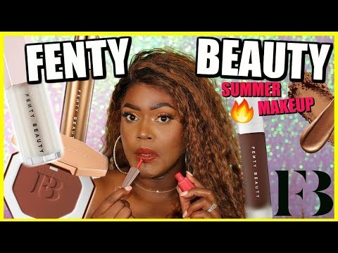 Fenty Beauty Full Face Summer Makeup! thumbnail