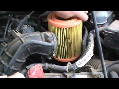 2003 Honda Element Engine Air Filter Replace