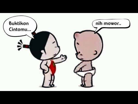 Story WA lucu || cewek matre #2 || status whatsapp animasi