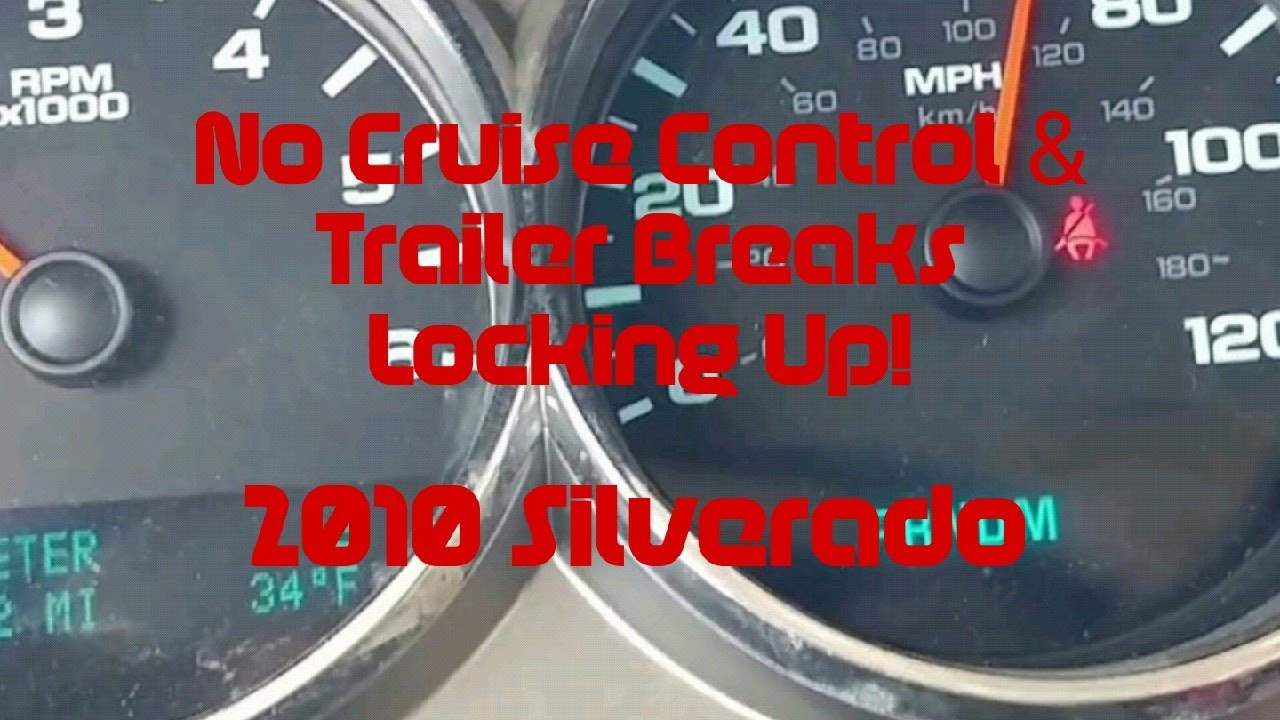 Bad Brake Switch Cruise Control Trailer Brakes Not Working Part 1 2007 2017 Chevy Silverado