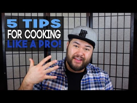 Tips For Learning To Cook Like Professional Chef