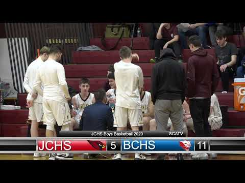 JCHS Boys Basketball vs Bishop Connolly High School (2020)