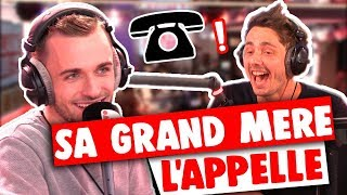 LA GRAND MÈRE DE SQUEEZIE L'APPELLE POUR LE DISPUTER EN DIRECT !