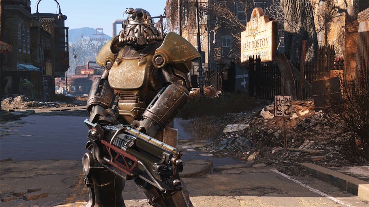 fallout 4 get power armor in 5 minutes ign plays youtube